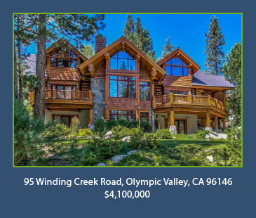 95 Winding Creek Road, Olympic Valley, CA