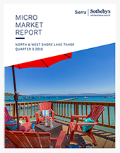 Sierra Sotheby's Micro Market Micro Market Report, 3rd Quarter 2018