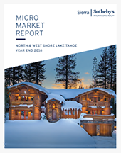 Sierra Sotheby's Micro Market Micro Market Report, Year End 2018