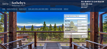 Tahoe Luxury Properties, represented by Bill Murphy, Sierra Sotheby's